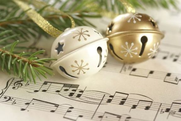 holiday-xmas-ornaments-and-music-score